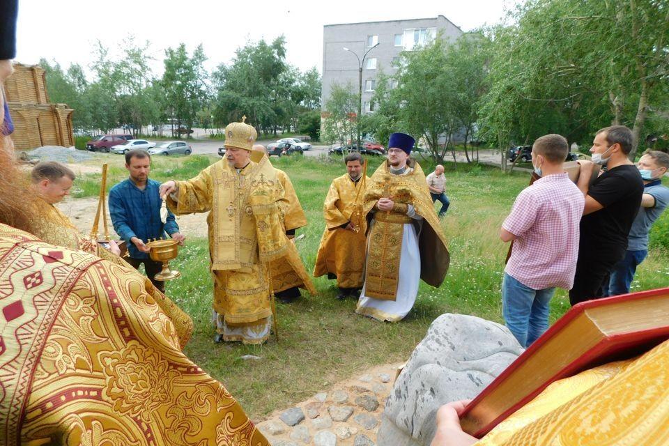 Планируется, что эскизы проекта памятника святым Петру и Февронии представят 29 августа, Фото: Мурманска епархия