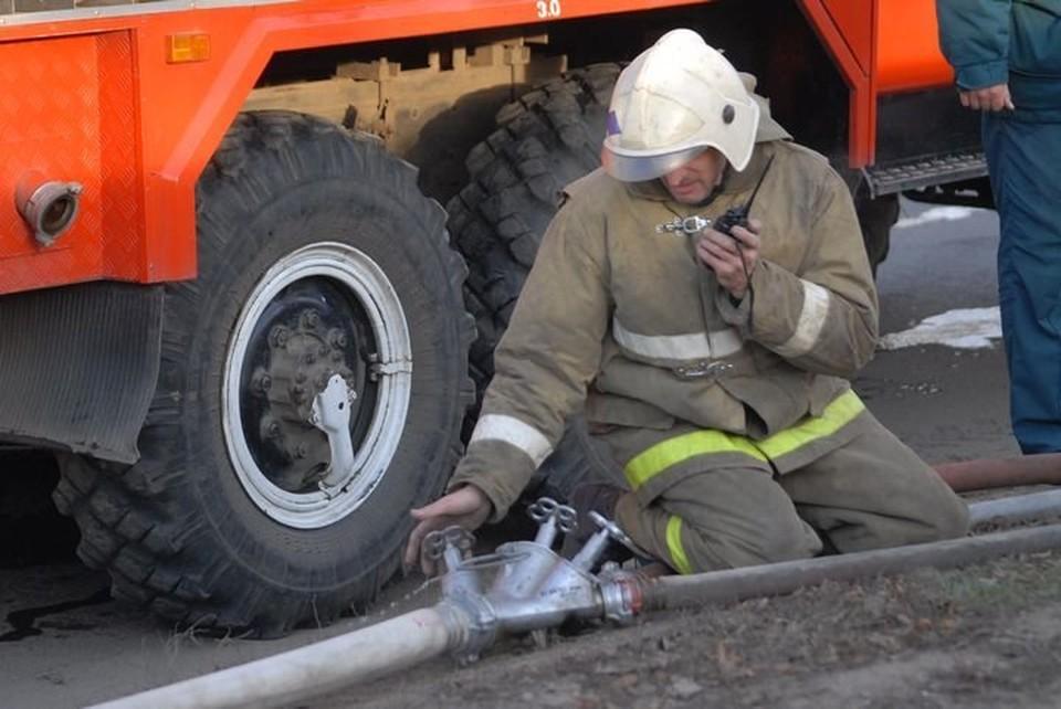 В четырех пожарах, произошедших за сутки в Тульской области, спасено 6 человек