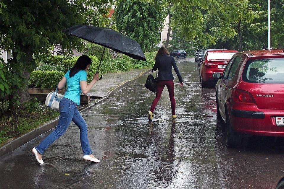 Проверяйте исправность зонтиков: в Беларусь идут ливни!