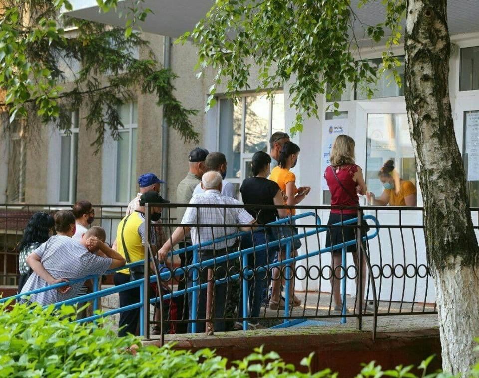 Избирательные участки в Приднестровье.