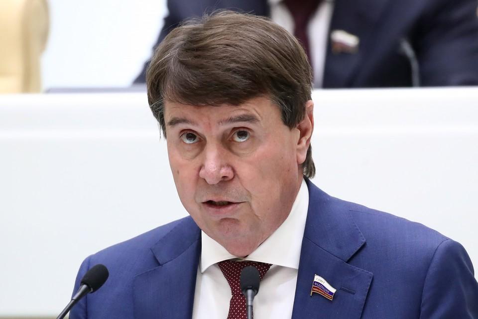 Член комитета Совета Федерации по международным делам Сергей Цеков. Фото: Валерий Шарифулин/ТАСС