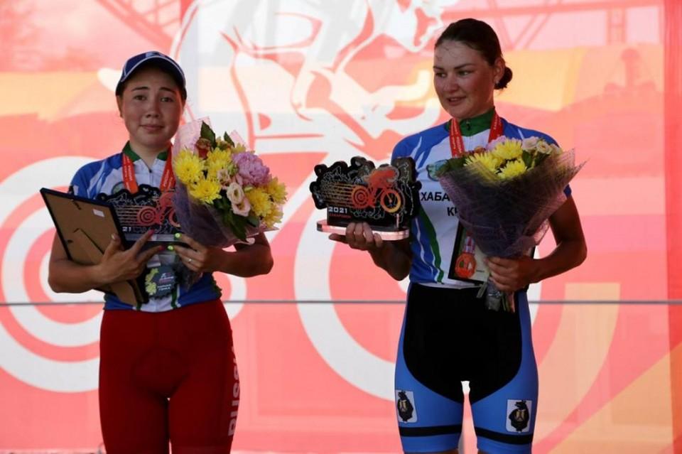 Хабаровские велогонщицы вошли в пятерку лучших на всероссийских соревнованиях