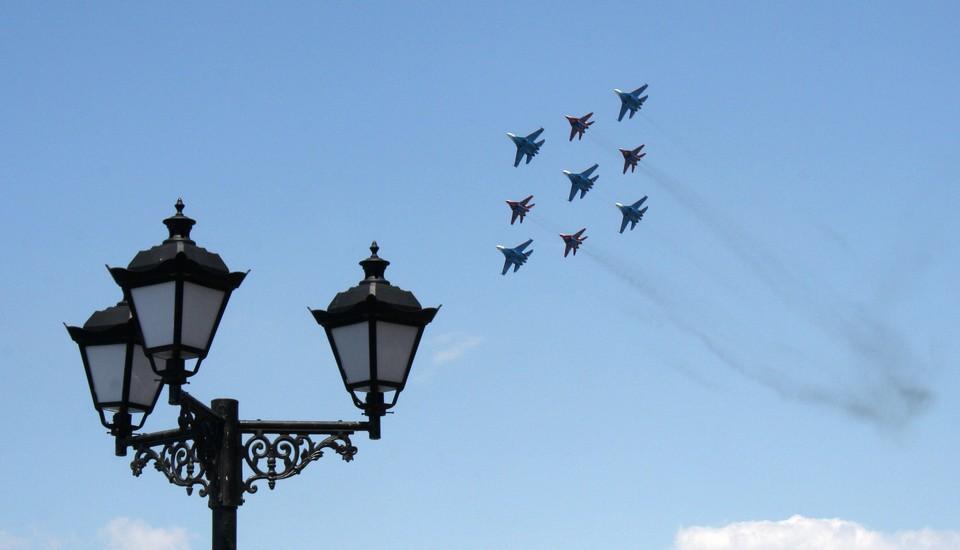 Боевая авиация - гордость российских вооруженных сил