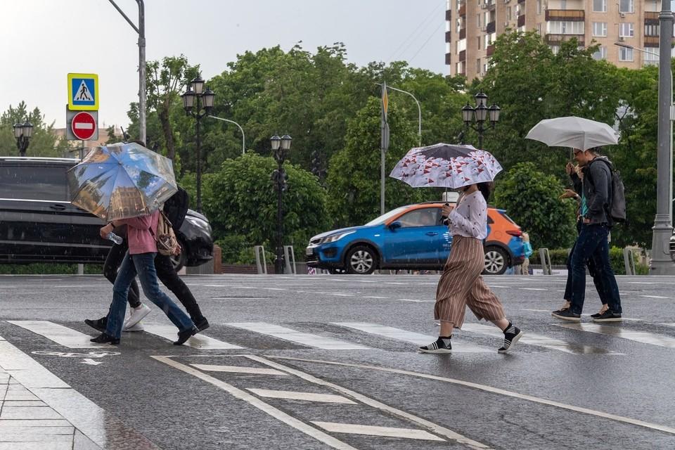 Погода испортится уже 14 июля.