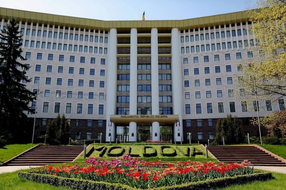 Здание парламента Респубилки Молдова.