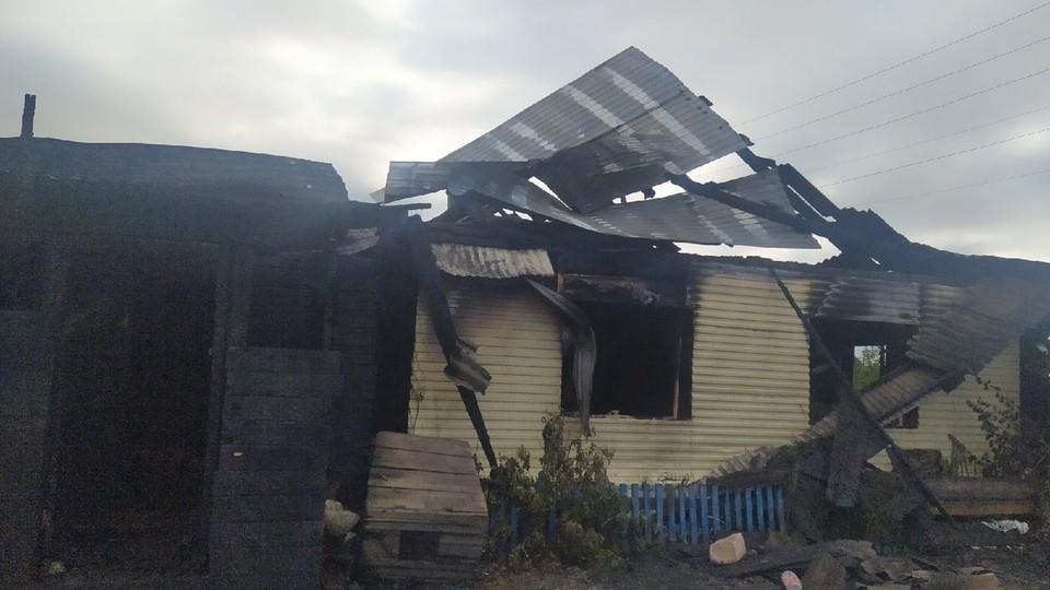 У Галины и ее 6 детей все сгорело.