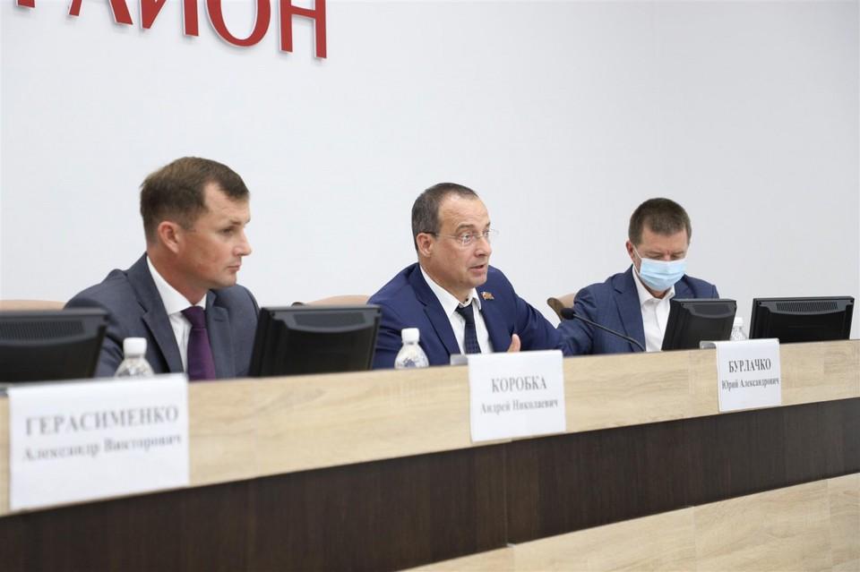 Выездное заседание комитета по развитию АПК и продовольствия в Каневском районе