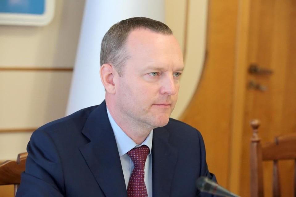 Депутат ГД от Крыма Константин Бахарев.