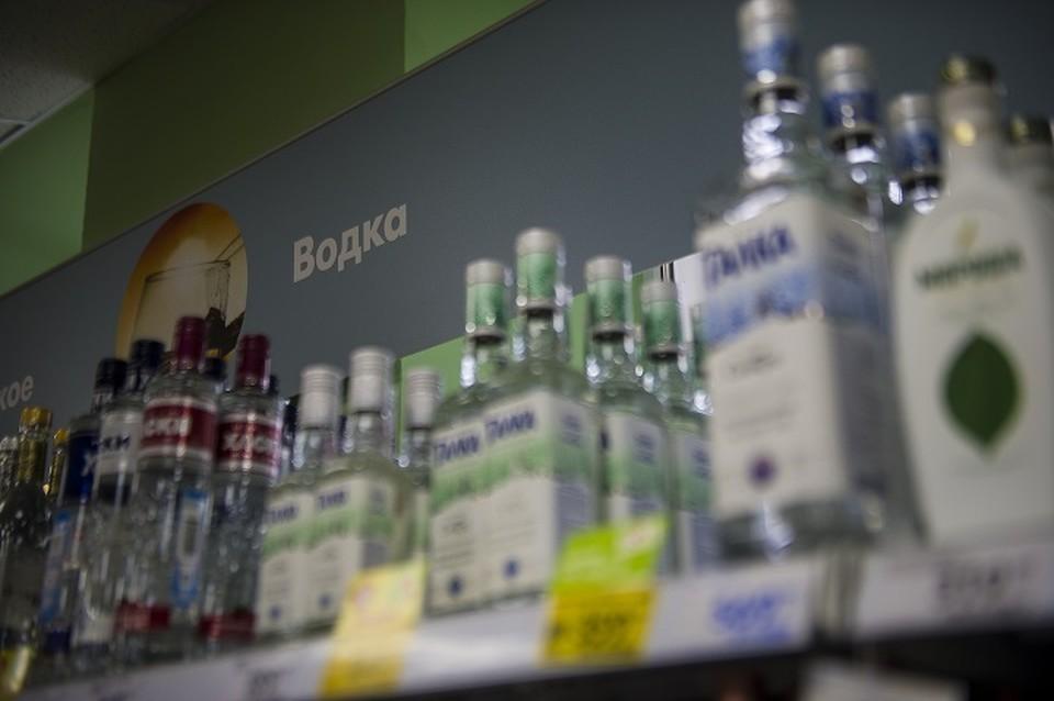 Ночью алкоголь продают нелегально
