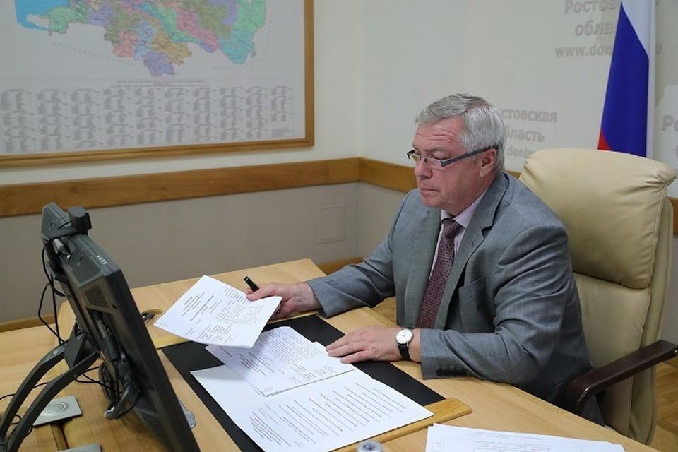 Василий Голубев не считает канатку мифическим проектом. Фото: сайт правительства РО