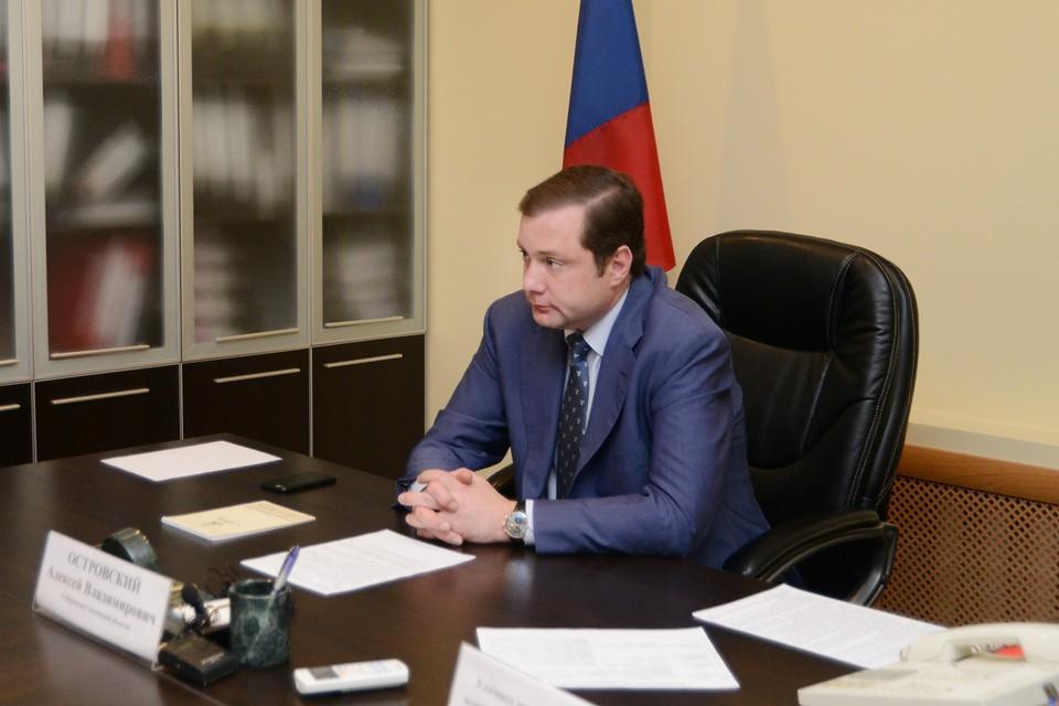 Алексей Островский провел прием граждан по личным вопросам. Фото: администрация Смоленской области.