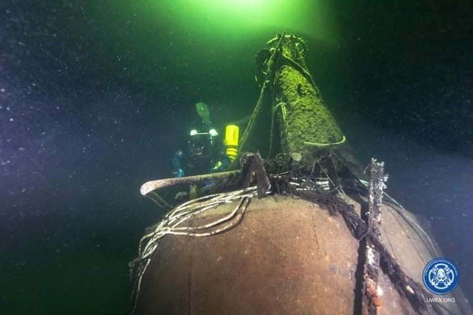 В Финском заливе обнаружена подводная лодка М-96, затонувшая в 1944 году / Фото: Разведывательно-водолазная команда