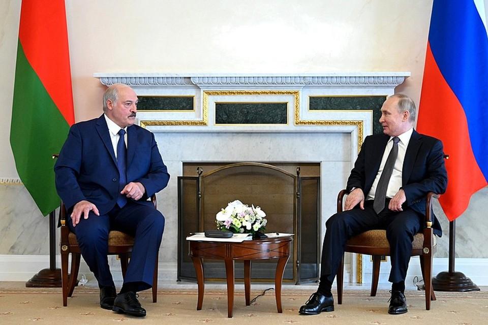 Путин и Лукашенко договорились о кредитах Минску. Фото: пресс-служба Кремля