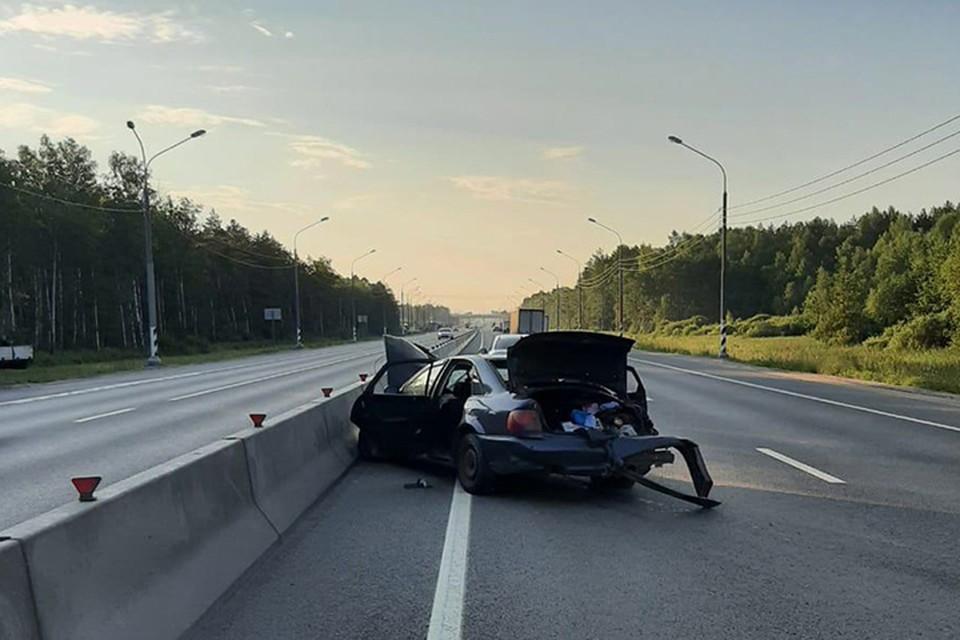 В ДТП на М-10 пострадали четыре человека Фото: УГИБДД России по Тверской области
