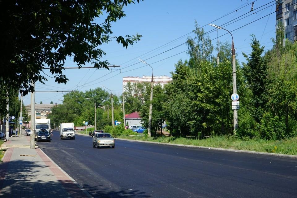 В Орле завершается ремонт Паровозной улицы и Южного переулка. Фото: пресс-служба администрации города