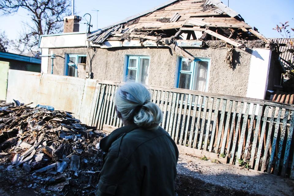 Утренний обстрел Старомихайловки не обошелся без последствий