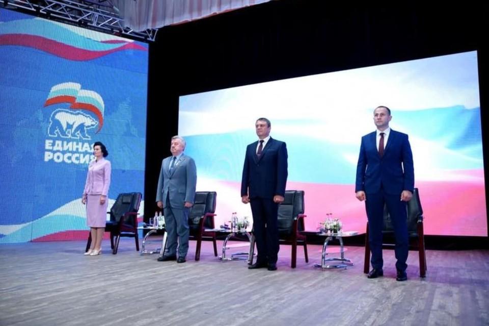 Форум проходит с участием представителей из ДНР, ЛНР, России, Южной Осетии и Абхазии. Фото: Пресс-служба Главы ЛНР