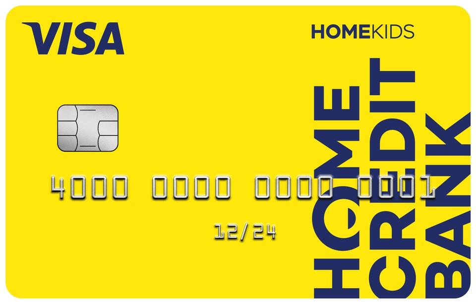 Банк Хоум Кредит выпустил детскую карту HOMEKIDS