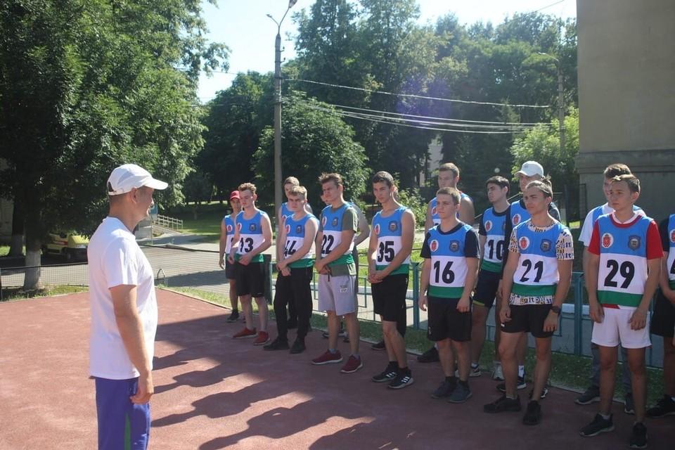 Туляки проходят испытания для поступления в Рязанское училище ВДВ