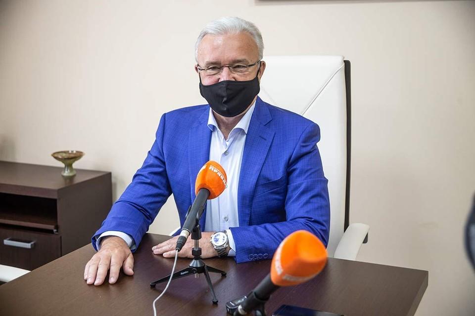 Александр Усс, губернатор Красноярского края
