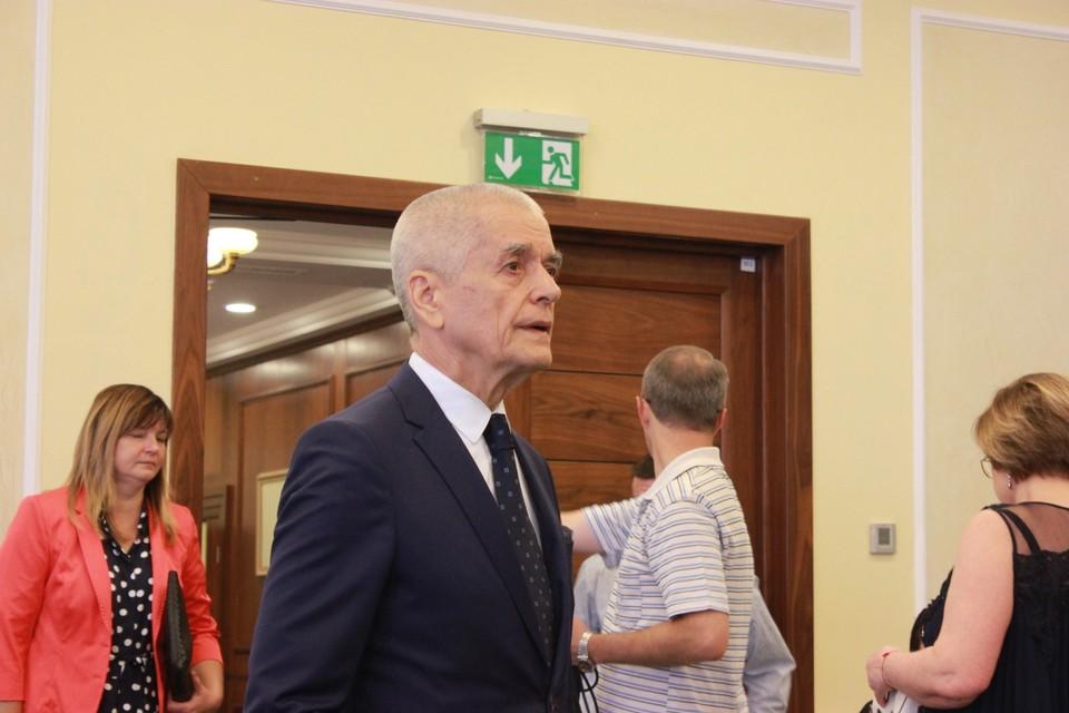 Онищенко отметил, что Донбасс всегда был кузницей экономики, промышленности, политики [архивное фото]