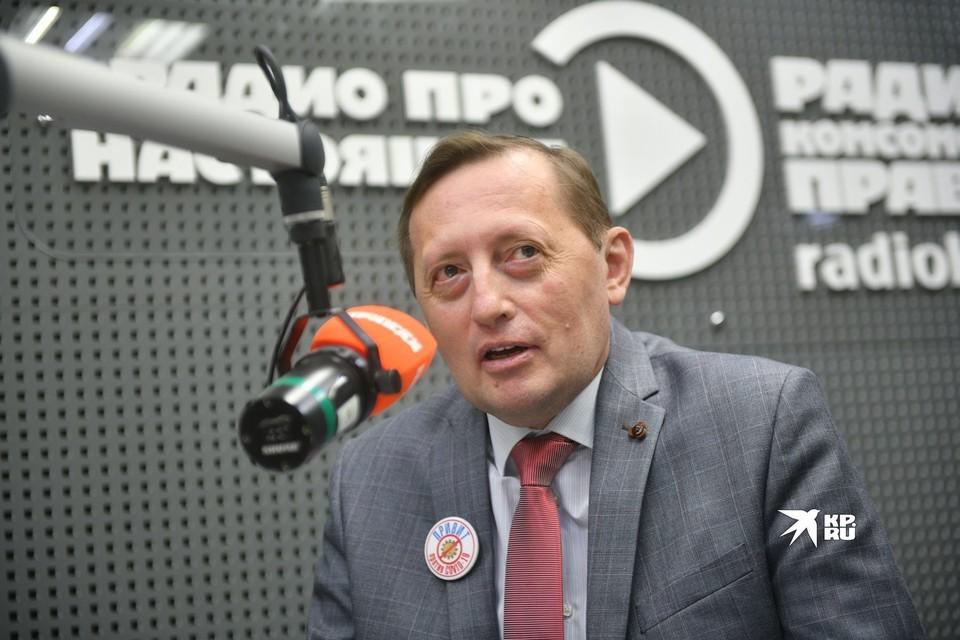 Об антиковидных мерах в эфире радио рассказал Павел Креков, заместитель губернатора Свердловской области.