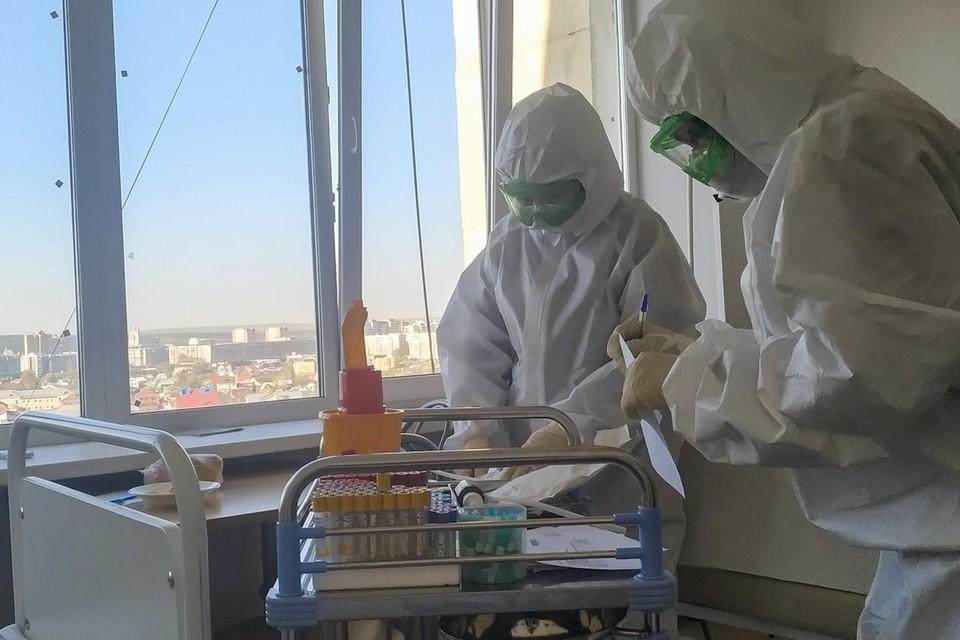 В Челябинской области лечатся от коронавируса более 3,8 тыс. человек