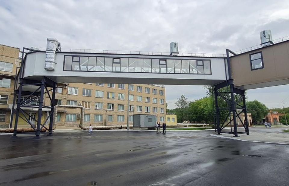 Зимой врачам и пациентам не нужно будет выходить на улицу, чтобы попасть из одного помещения в другое. Фото: администрация Челябинска