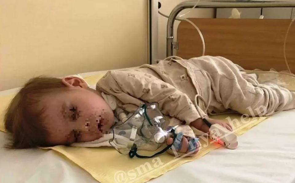 У семьи Ильи Шахова остается надежда только на неравнодушных жителей России. Фото: instagram.com/sma_1_ilya_help.