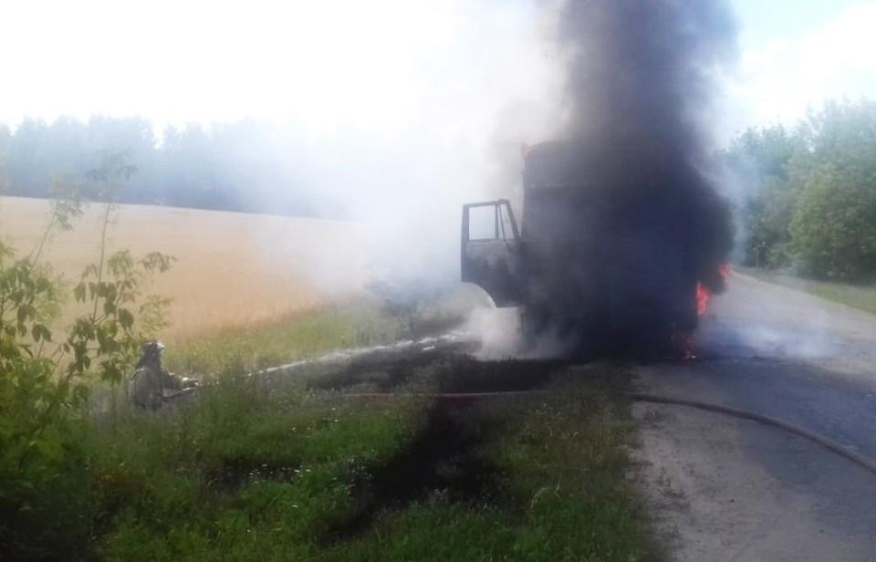 Люди в пожаре не пострадали