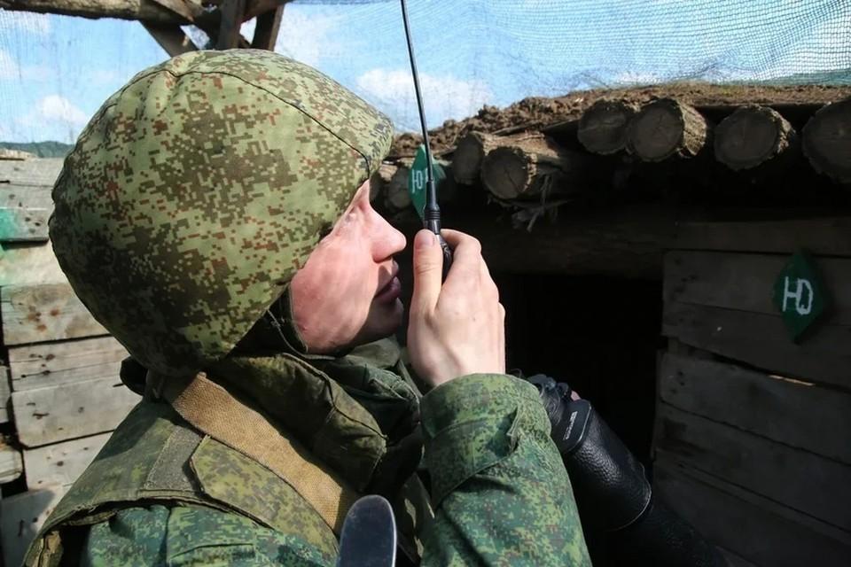 По позициям ВСУ был открыт ответный огонь