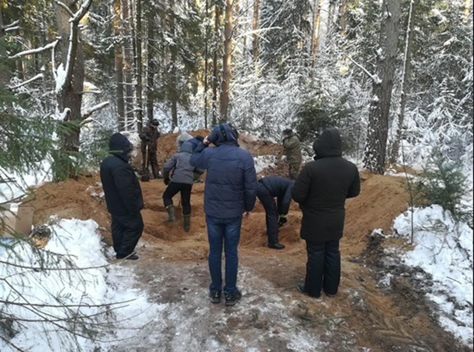 Дядя закопал племянника сначала в огороде, а потом вывез в лес. Фото: СКР по Пермскому краю.