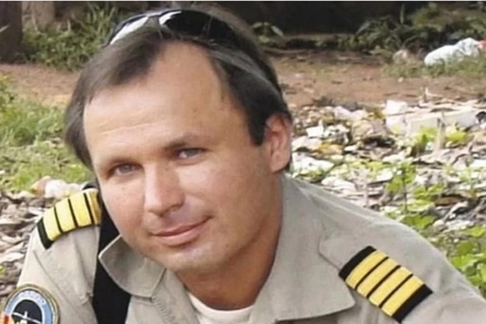 Летчика Константина Ярошенко осмотрел врач. Фото: из архива семьи Ярошенко