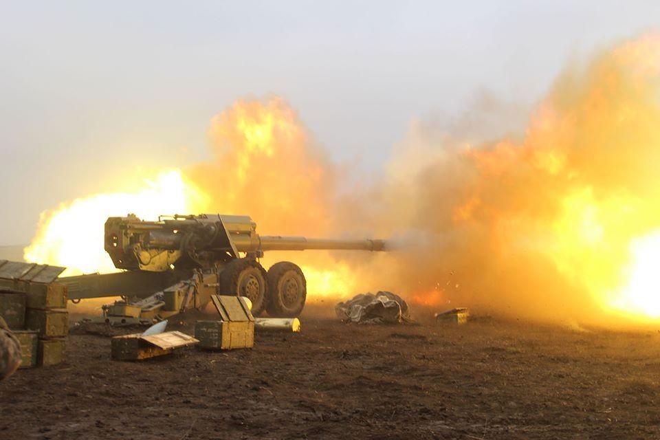 Боевики ВСУ выпустили больше сотни боеприпасов по направлению населенных пунктов ДНР. Фото: пресс-центр штаба ООС