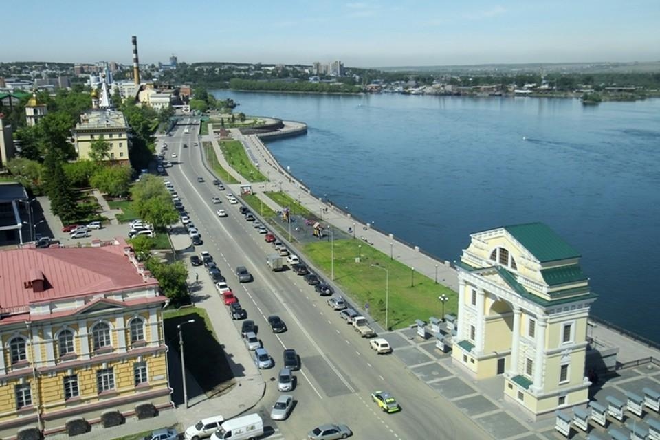 Погода в Иркутске: 19 июля в городе без осадков