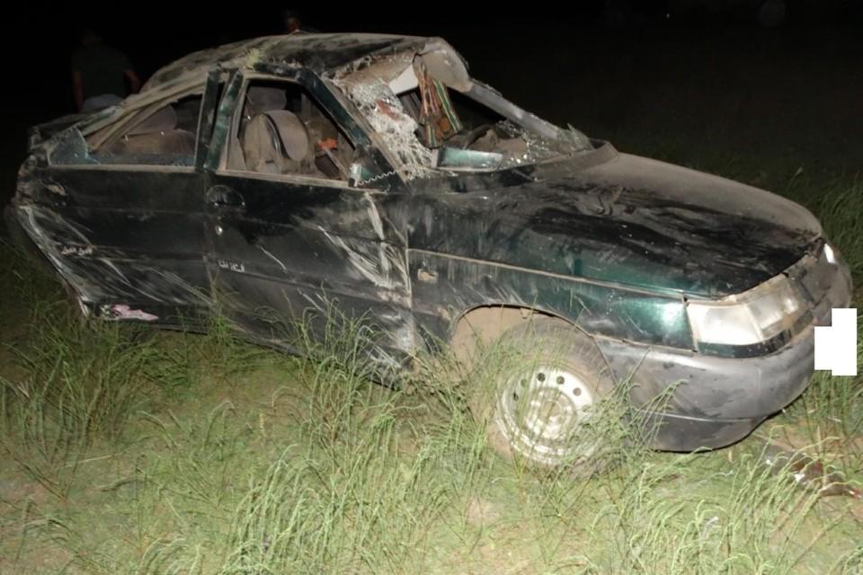 Сам виновник аварии не пострадал. Фото: УГИБДД по СК