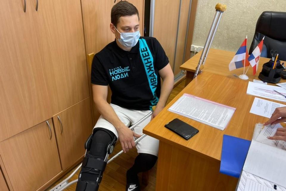 Денис Резник недавно перенес сложную операцию