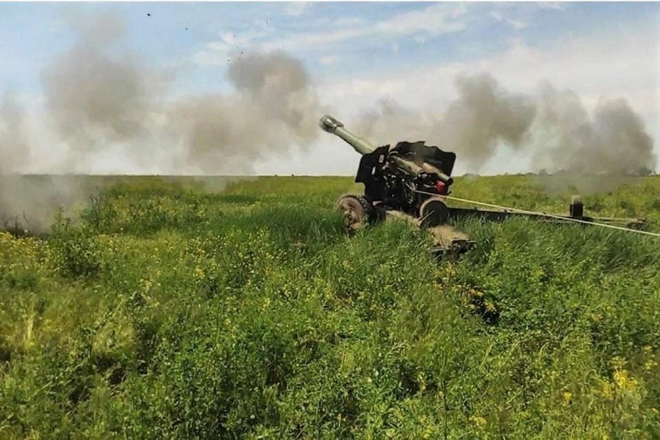 Украинские силовики резко снизили активность. Фото: штаб «ООС»