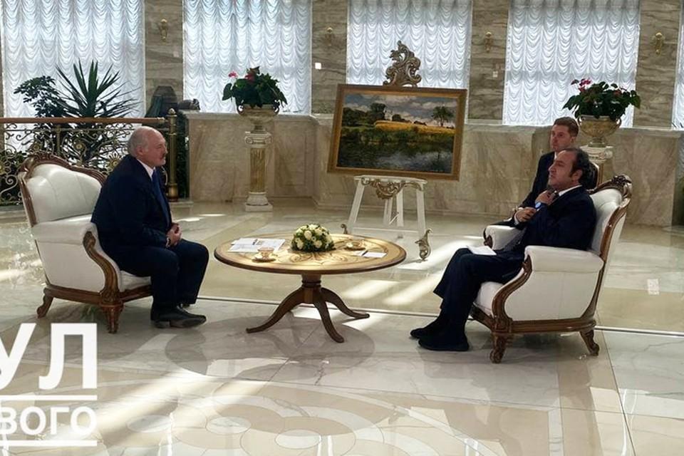 """Стало известно, что Лукашенко рассказал в интервью арабскому телеканалу. Фото: """"Пул Первого""""."""