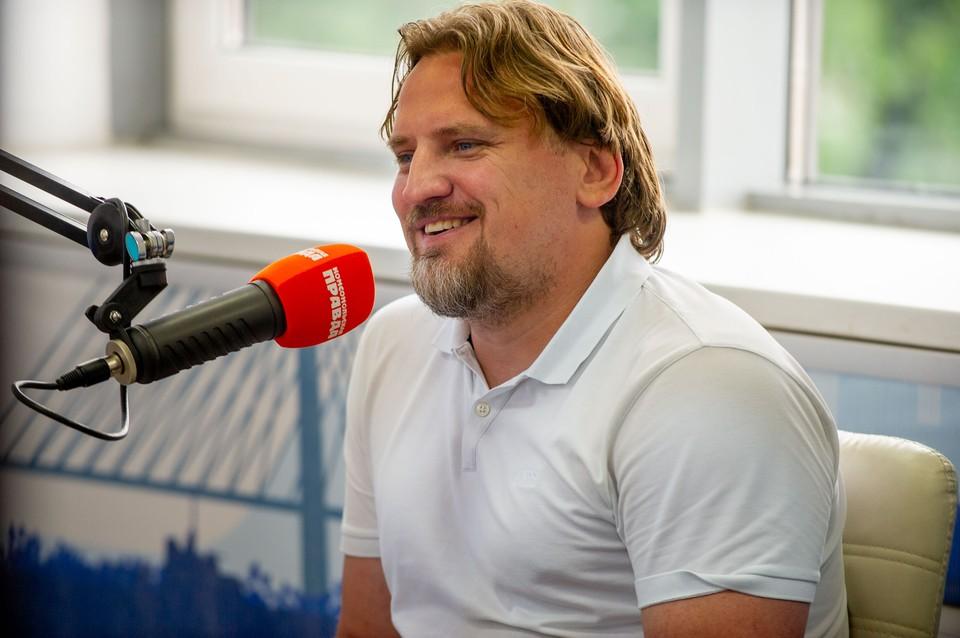 Дмитрий Булыкин в эфире радио «Комсомольская правда – Владивосток»