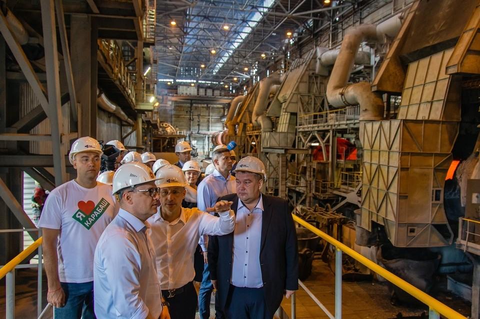 Металлургия в Кыштыме и Карабаше развивается с демидовских времен и далеко шагнула вперед по уровню технологий