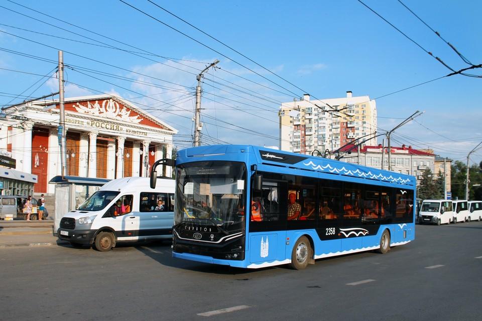 "Троллейбус ""Адмирал"" на маршруте №5 в Саратове. Фото группы ВК ""Трамваи и троллейбусы Саратова"""