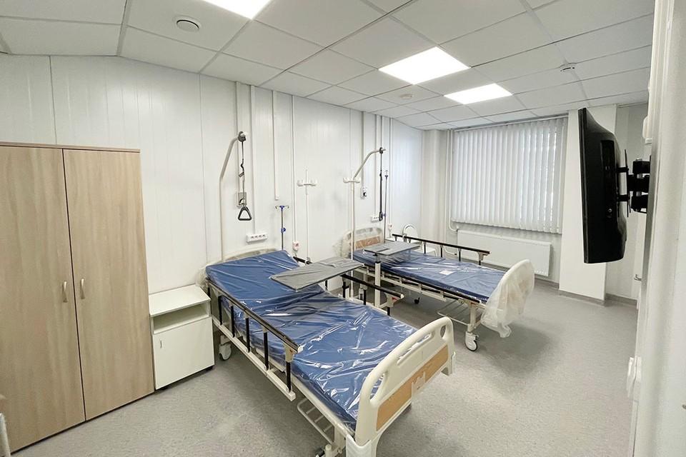 Новый медицинский корпус технически готов к приему пациентов. Фото: Пресс-служба ИНК