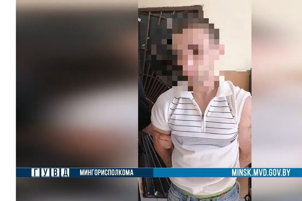 На Цнянском водохранилище сотрудники милиции задержали двух братьев. Фото: скриншот с видео ГУВД Мингорисполкома