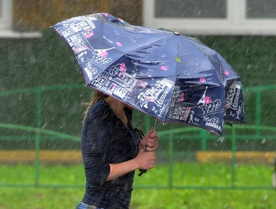 В Прикамье ожидаются сильные ливни.