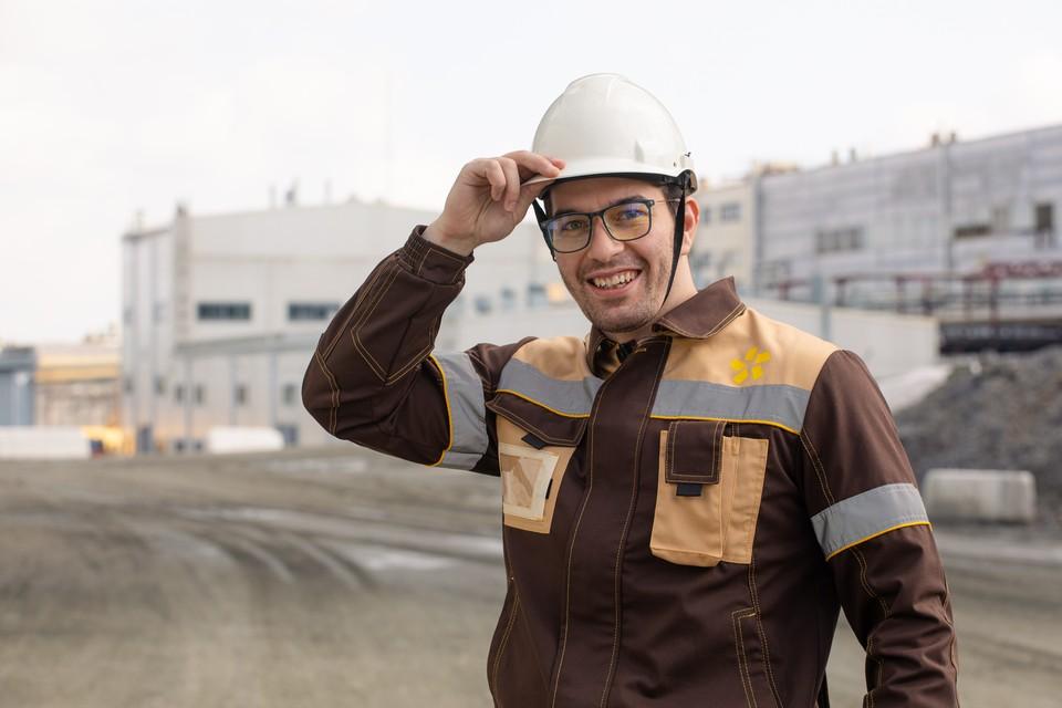 Александр Нагиев, инженер-обогатитель золотоизвлекательной фабрики. Фото компании