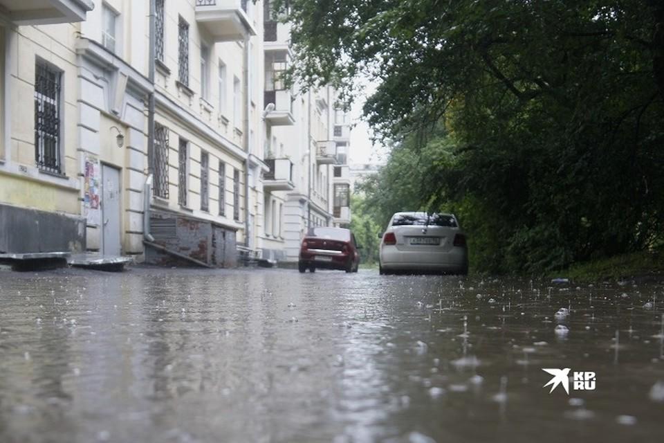 Дожди накроют территорию области