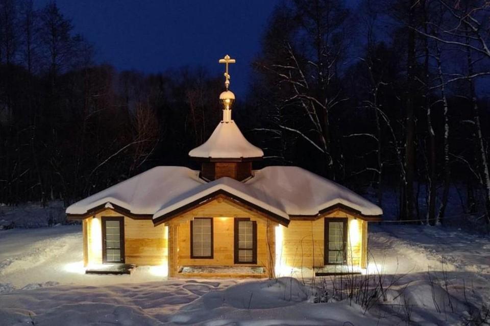 """Купальня оформлена красочно, однако... Фото из архива """"КП""""-Рязань""""."""