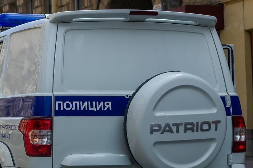 Полиция разбирается с останками баранов, выброшенных у КАДа в Приморском районе.