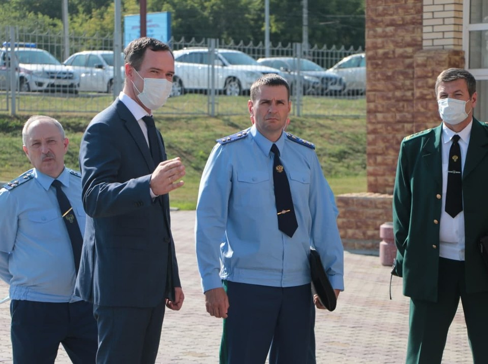 Дмитрий Демешин остался недоволен работой регионального минприроды. Фото: epp.genproc.gov.ru